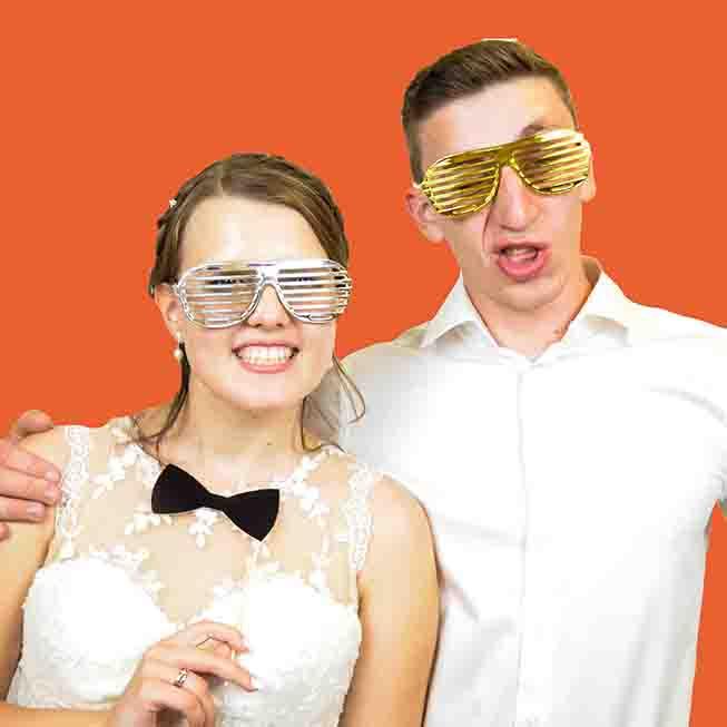 junges Brautpaar